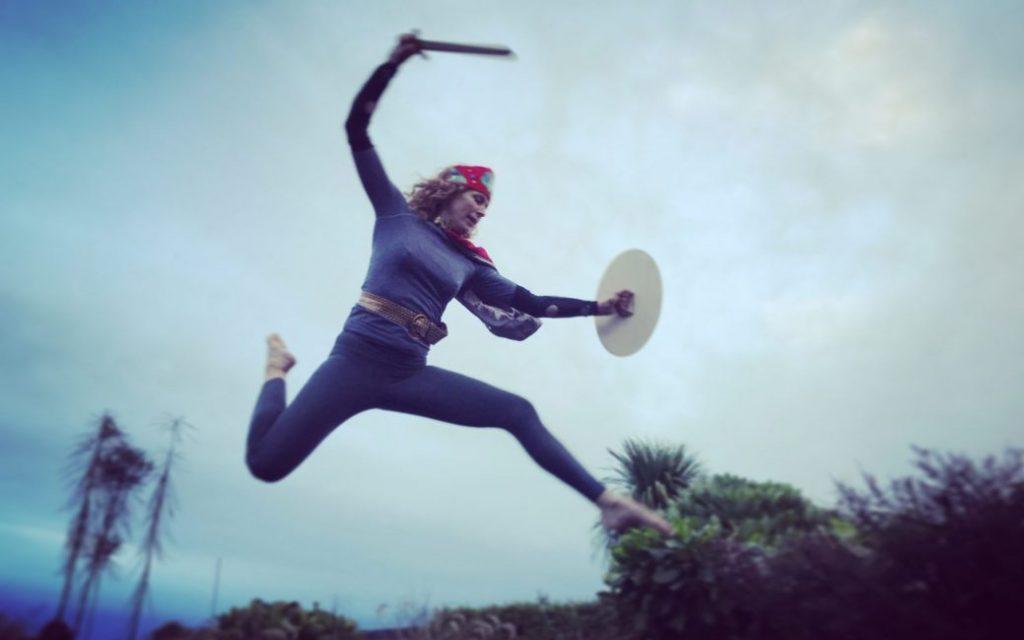 Channeling Wonder Woman - Sam Loe Yoga